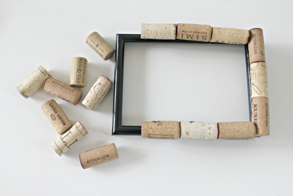 Cork Frame Craft Brilliant Way To Recycle Wine Corks