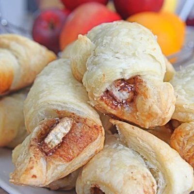 Banana Cinnamon Breakfast Croissant Recipe