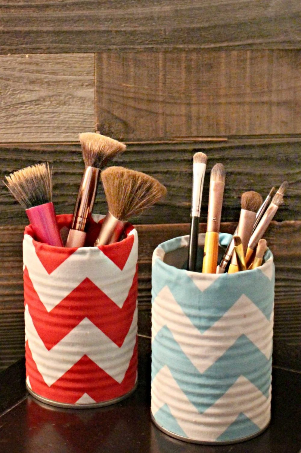 DIY makeup holder
