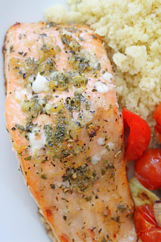 lemon and herb salmon