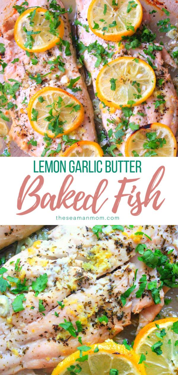Lemon garlic butter fish