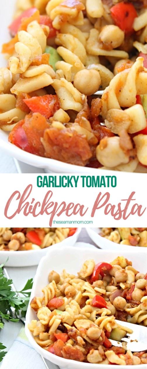 Chickpea pasta recipe