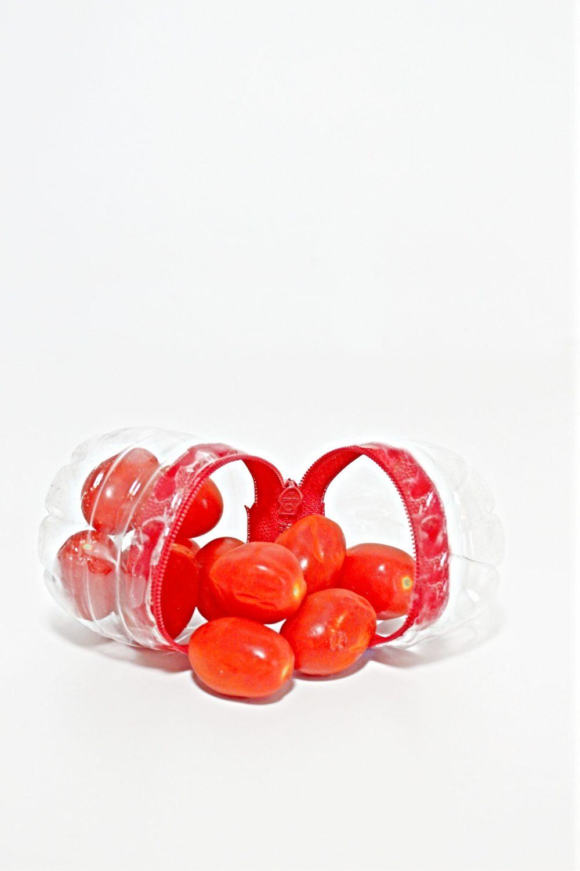 plastic bottle snack pack