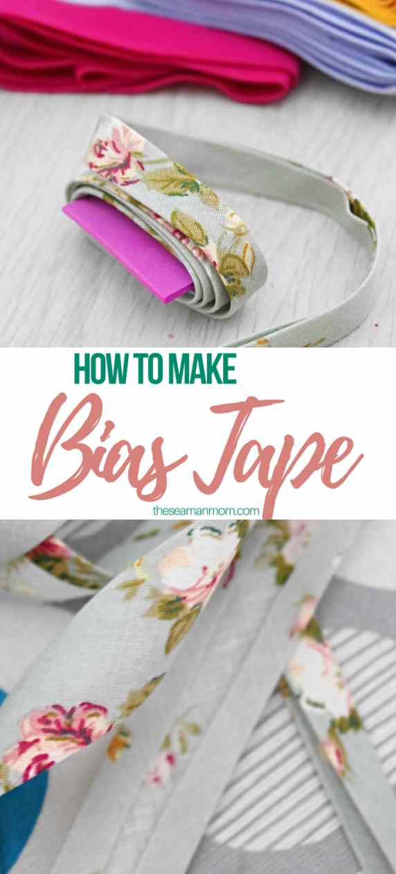 How to make bias tape without bias tape maker
