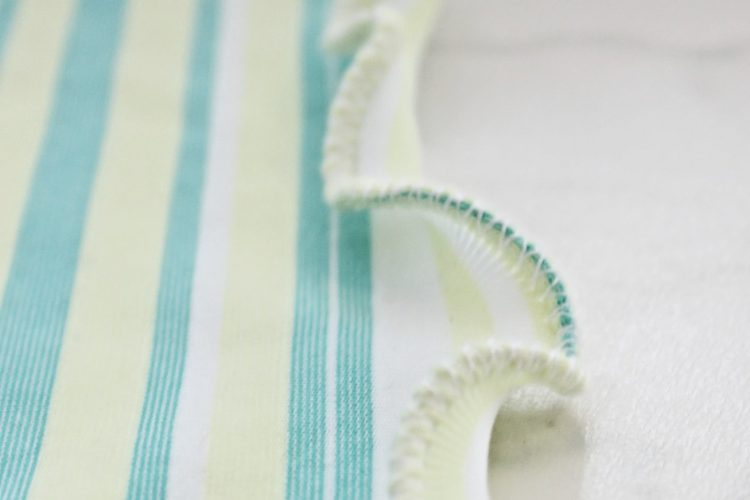How To Sew A Lettuce Hem In Just A Few Minutes
