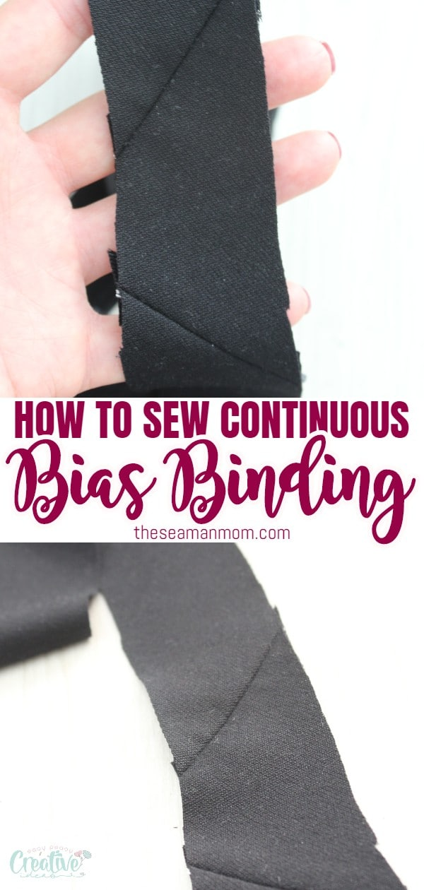 Ever wanted to makebulk bias tape so you can simplify your life and make sewing projects a little faster? Now you can because of this awesome stuff called continuous bias binding! Making continuous bias tape has never been easier with this simple and quick tutorial! via @petroneagu
