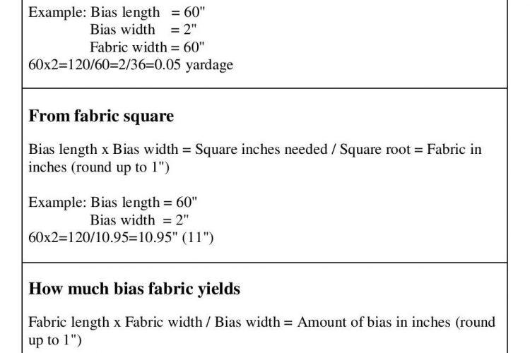 Bias Calculator, Formula & Cheat Sheet