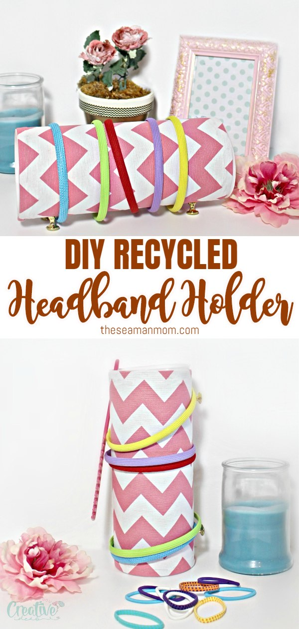 Are you swimming in a sea of headbands, struggling to learn how to organize headbands? It's time to put all those worries and struggles to rest because making your own headband holder is now so easy peasy! via @petroneagu