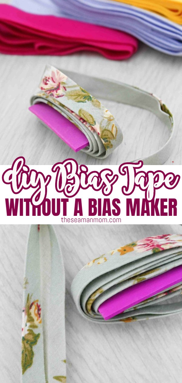 Why spend money on bias tape you're really not crazy about when you could create your own in the fabric size and length you need? Making bias tape at home could not be easier so you won't need to compromise anymore and use bias binding that's simply not perfect for your project! Here's how to make bias tape, in a simple and easy tutorial that covers both single fold bias tape and double fold bias tape! via @petroneagu