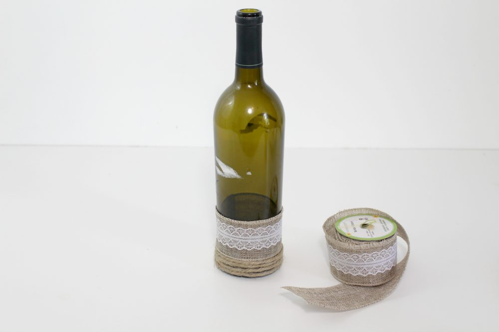 Wine bottle art gorgeous recycling idea for home decor wine bottle home decor solutioingenieria Image collections