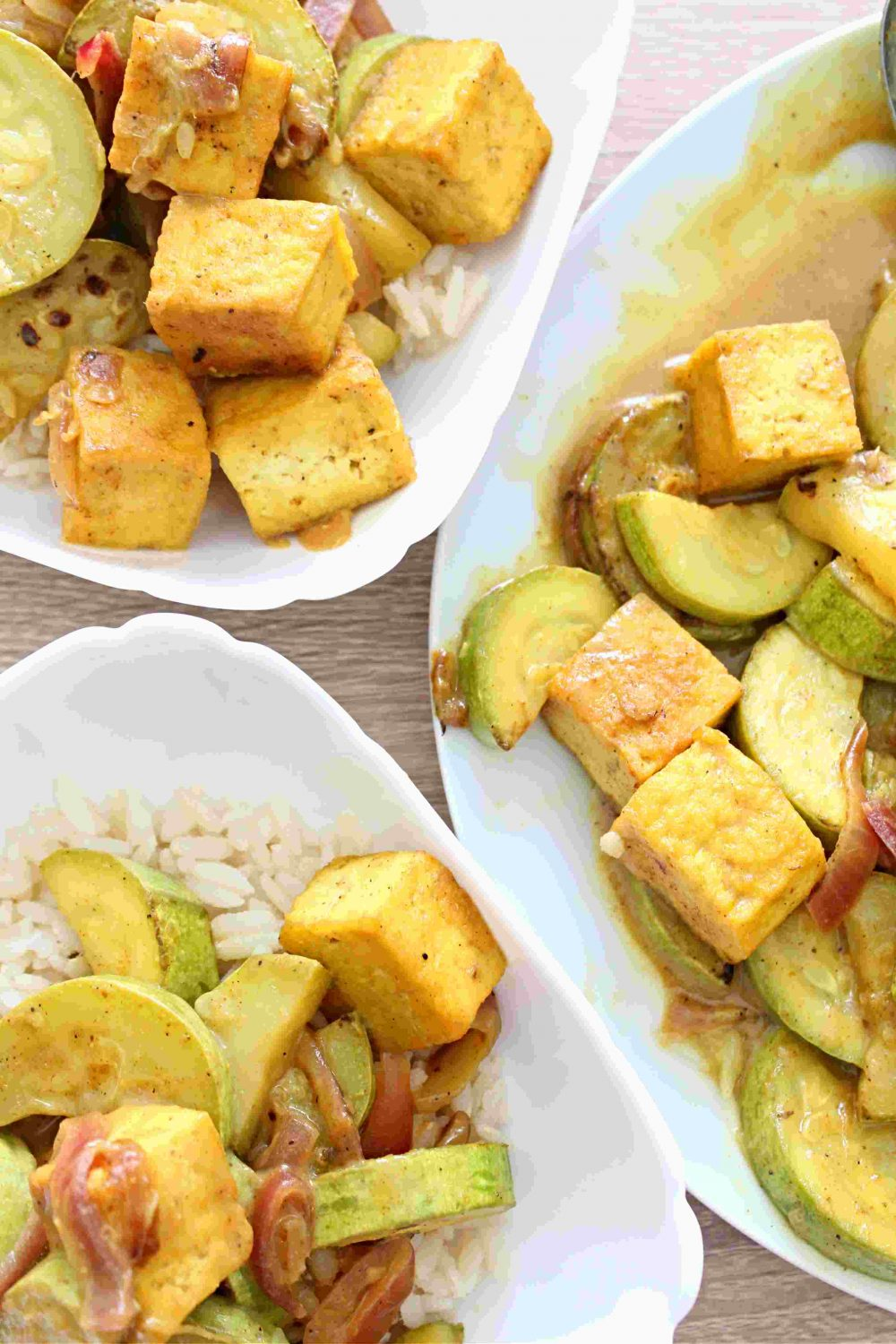 easy tofu curry