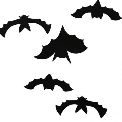 Hanging Bats With 3 Bat Templates