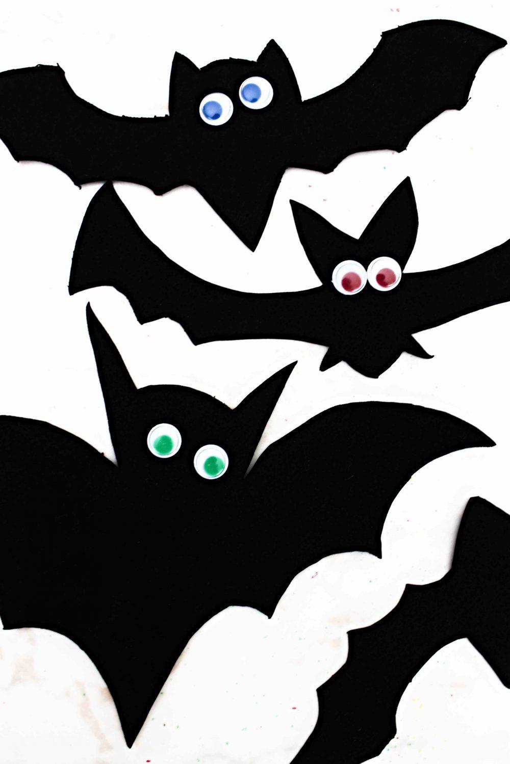 halloween bats template