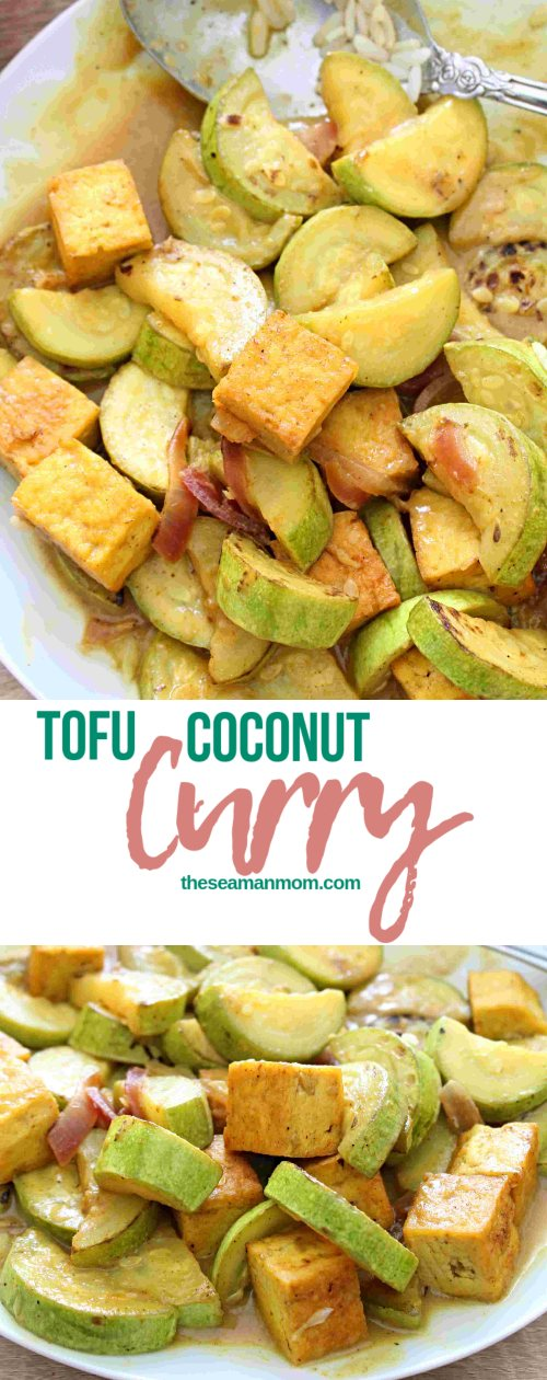 Tofu coconut curry