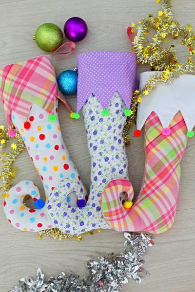 Christmas elf stocking pattern