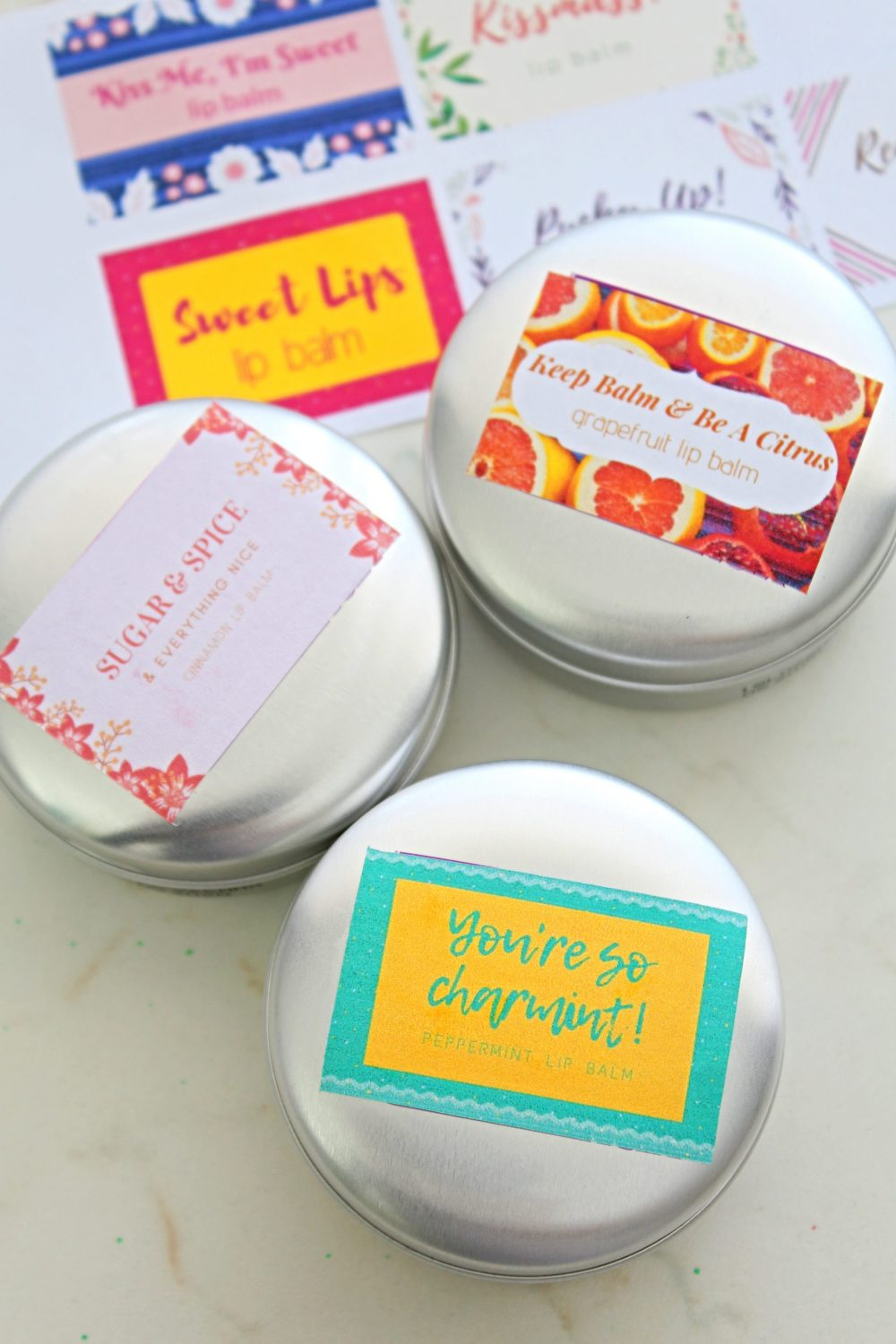 diy lip balm with coconut oil