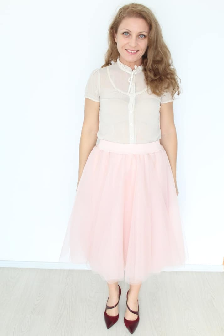 Ladies tulle skirt