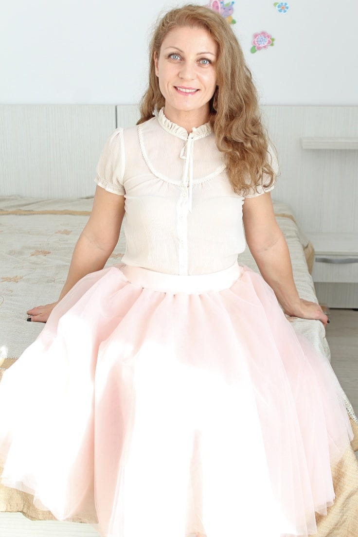 Tulle skirt pattern