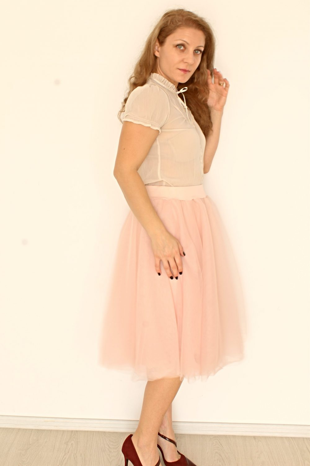 ladies tulle skirt