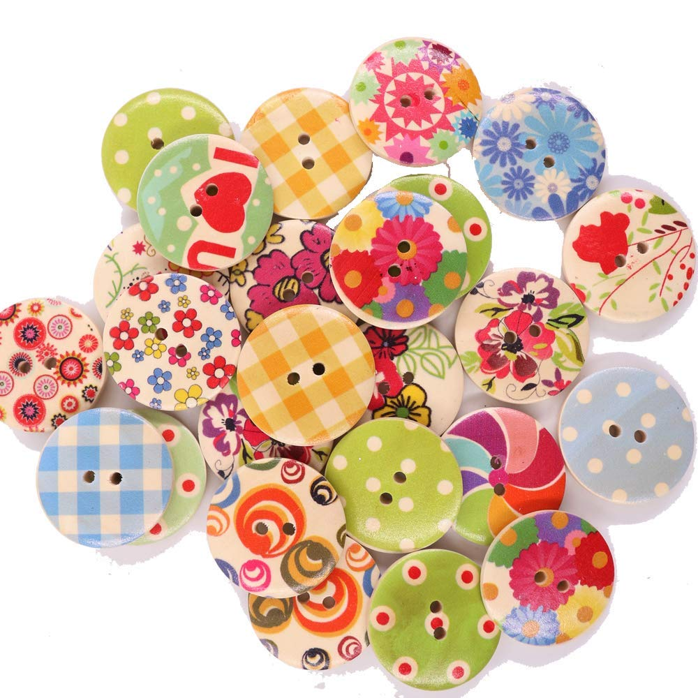 Cute colorful buttons
