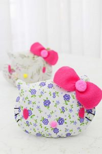 Hello Kitty coin purse pattern