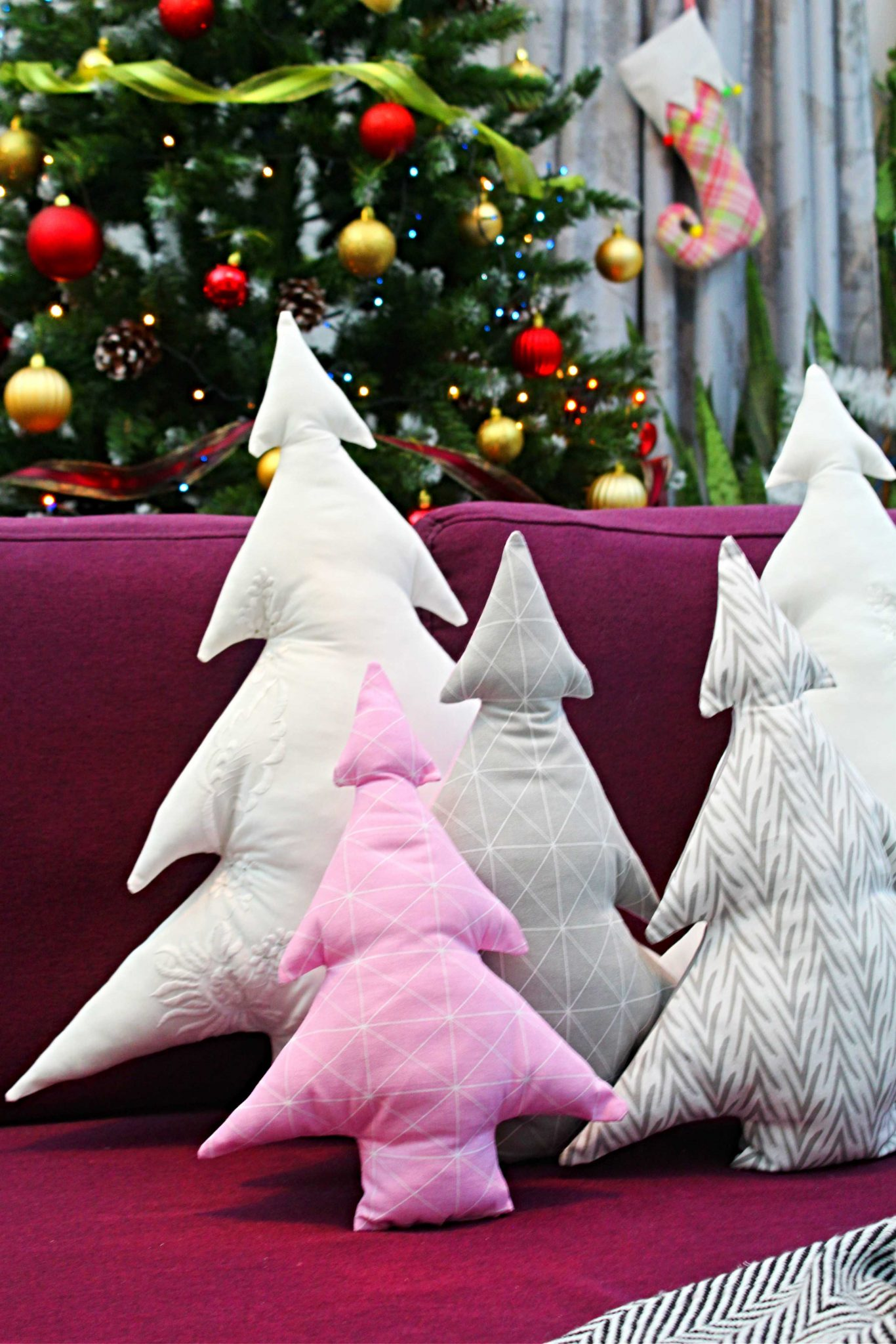 Christmas pillows to make