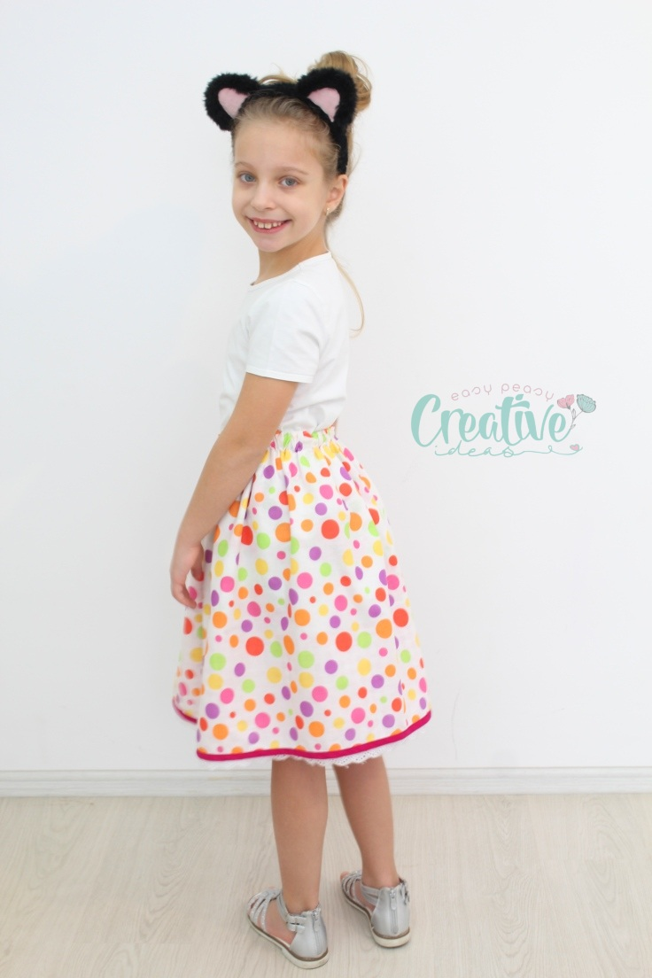 Easy sew skirt
