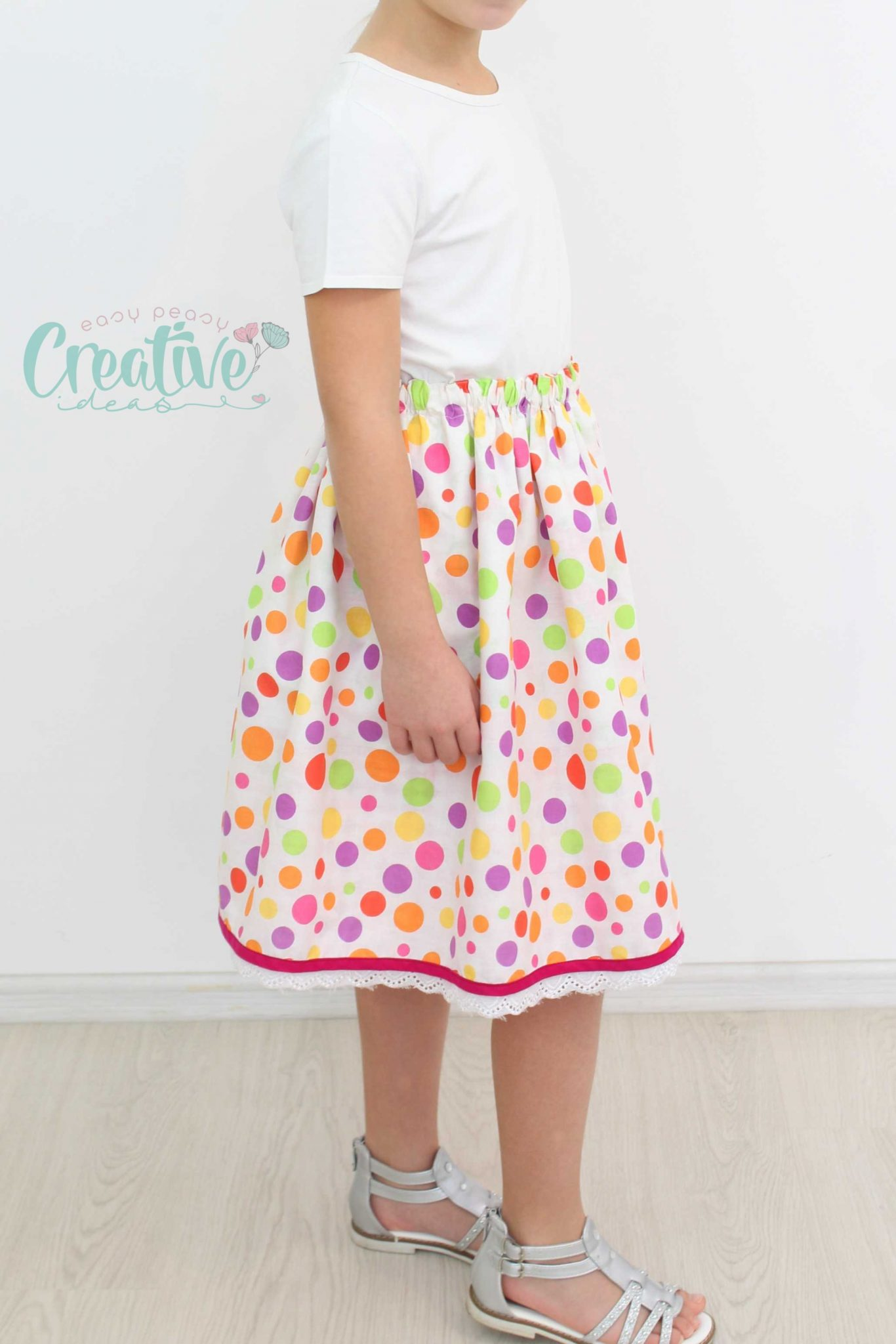 Gathered skirt pattern