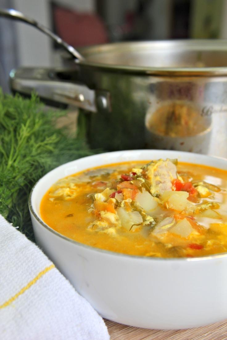 Pork chop vegetable soup