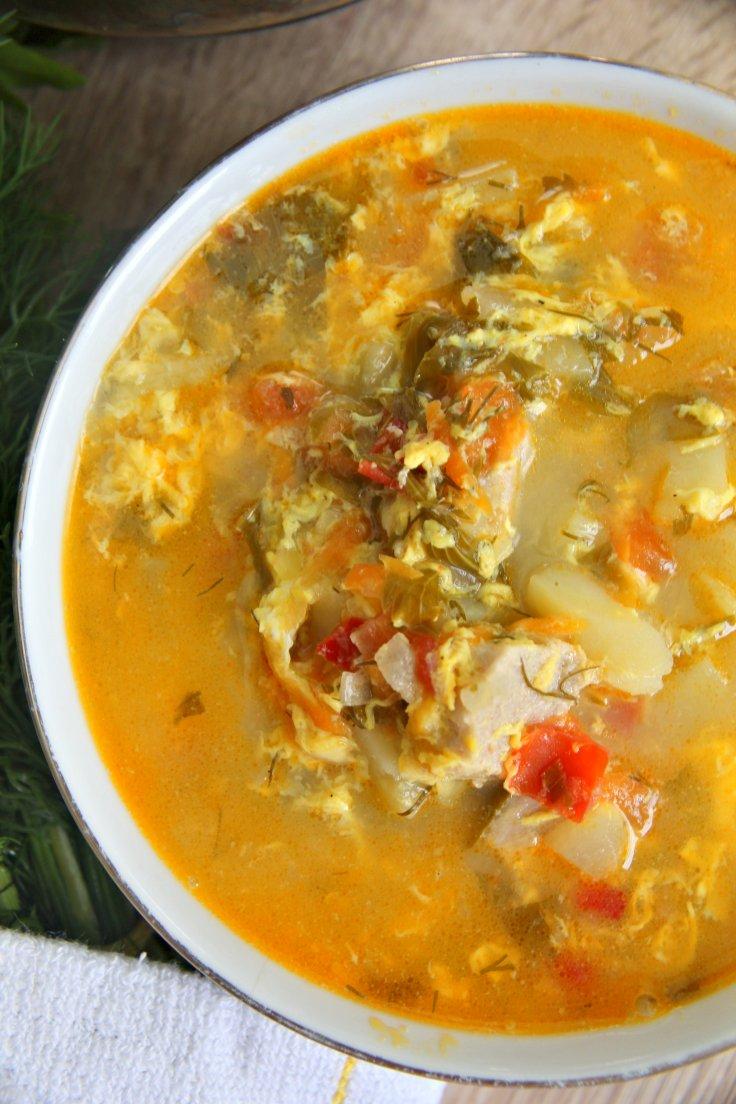 soup made with pork