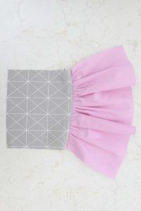 gathering fabric