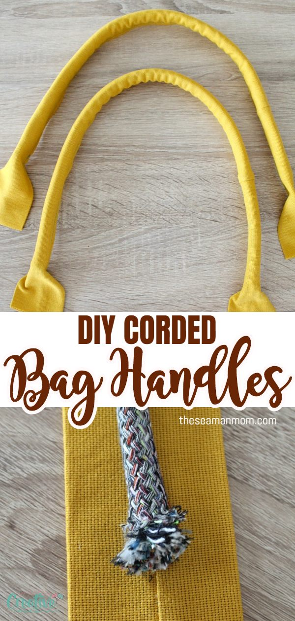 Making bag handles has never been easier and fun! Learn how to sew sturdy fabric handles for bags and totes with this simple tutorial that will teach you how to make bag handles the easy way! This handbag handles will teach you how to make corded bag handles.  via @petroneagu