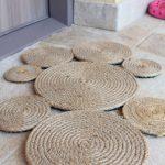 DIY jute rug