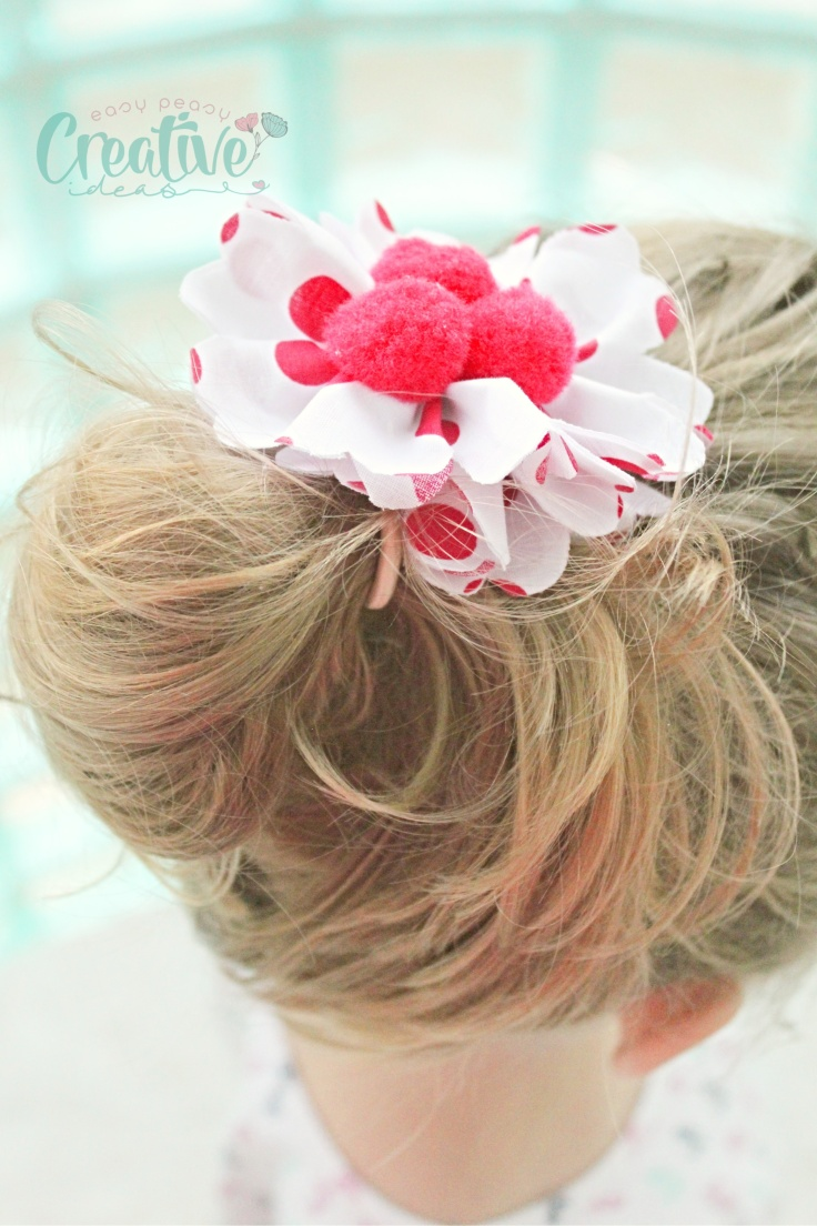 Fabric hair tie