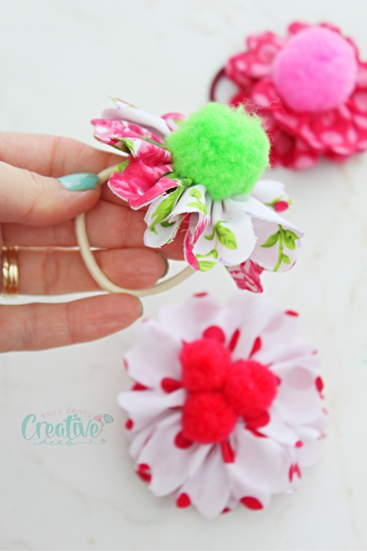 Fabric hair ties