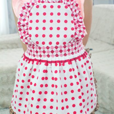 Reversible Kids Apron Pattern With Ruffles