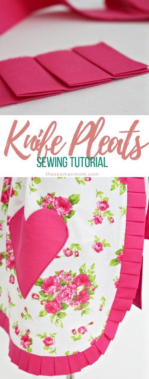 How to make pleats
