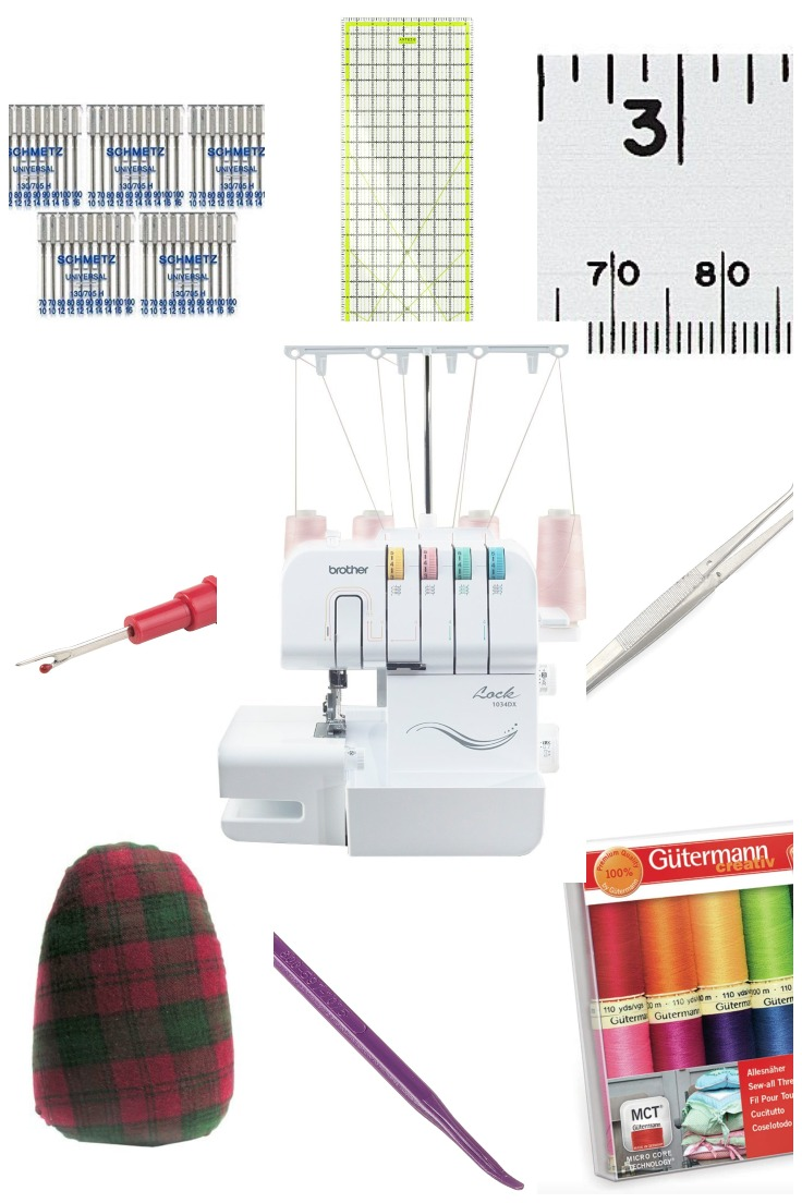 Sewing tools and their uses