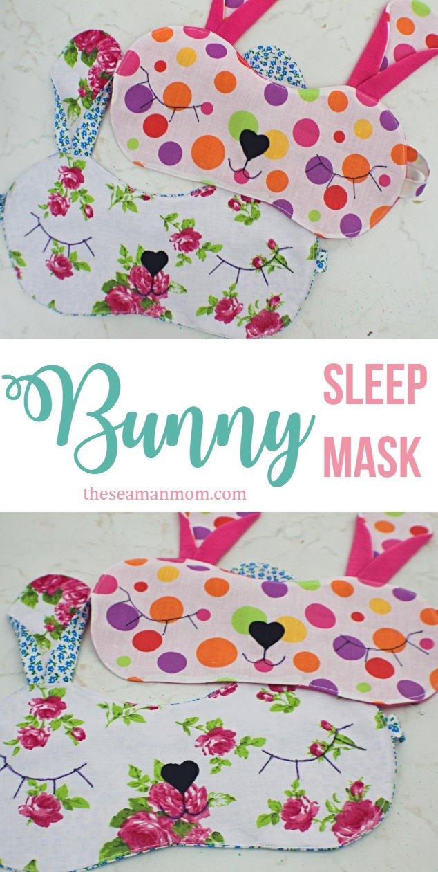 Bunny sleeping mask