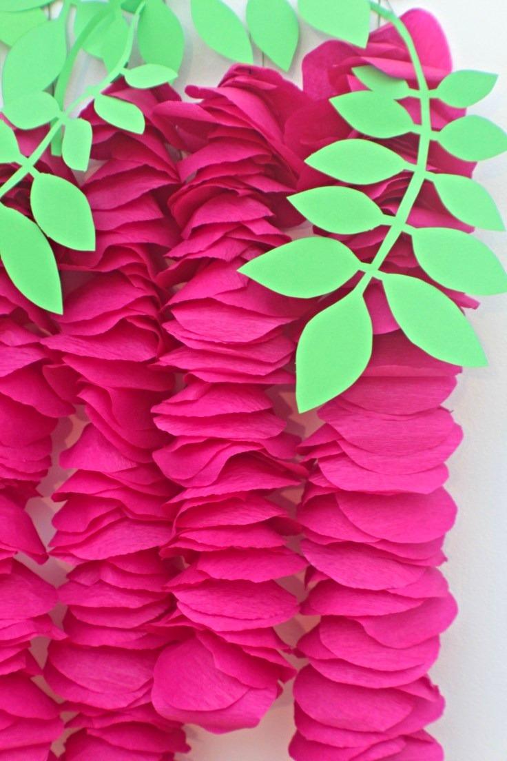 DIY wisteria