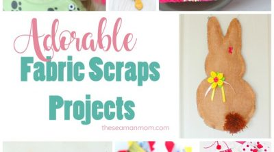 Fabric scraps projects