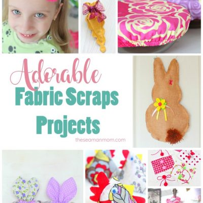 25 Gorgeous fabric scraps projects to sew