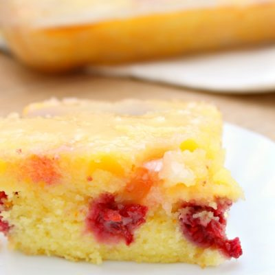 Lemon Raspberry Cake With Buttermilk