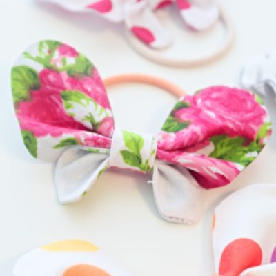 DIY Butterfly Hair Bows