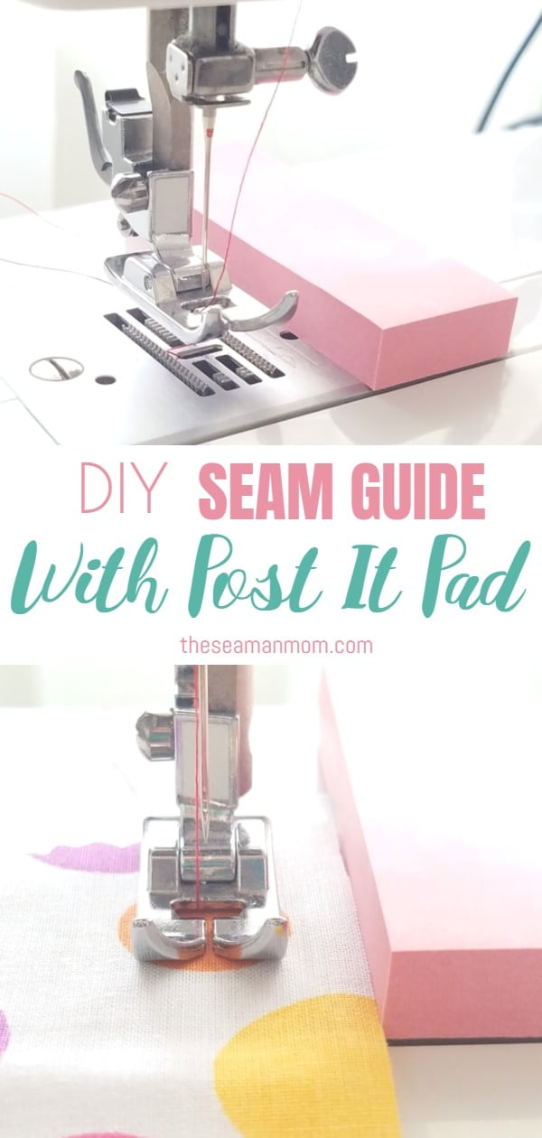 DIY seam guide