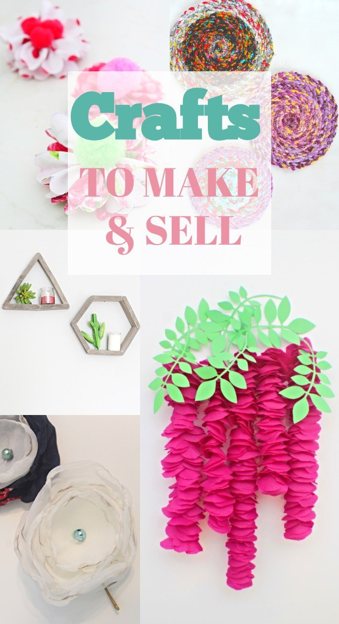 Crafts To Make And Sell Online At Craft Shows Or Flea Market