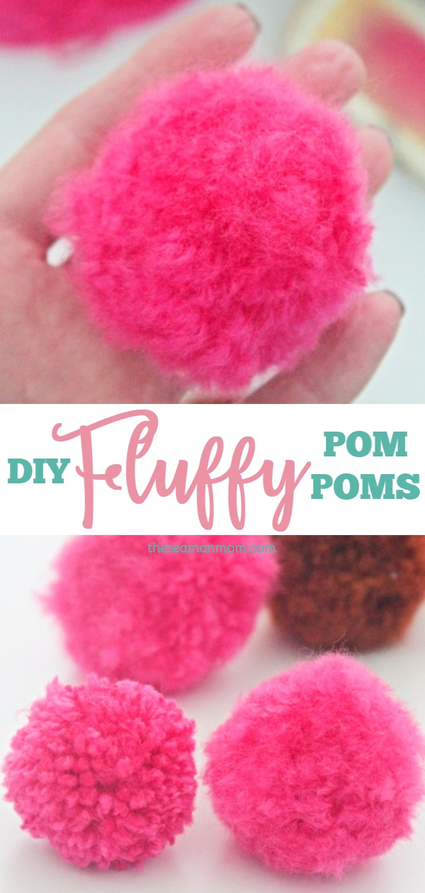Fluffy pom poms