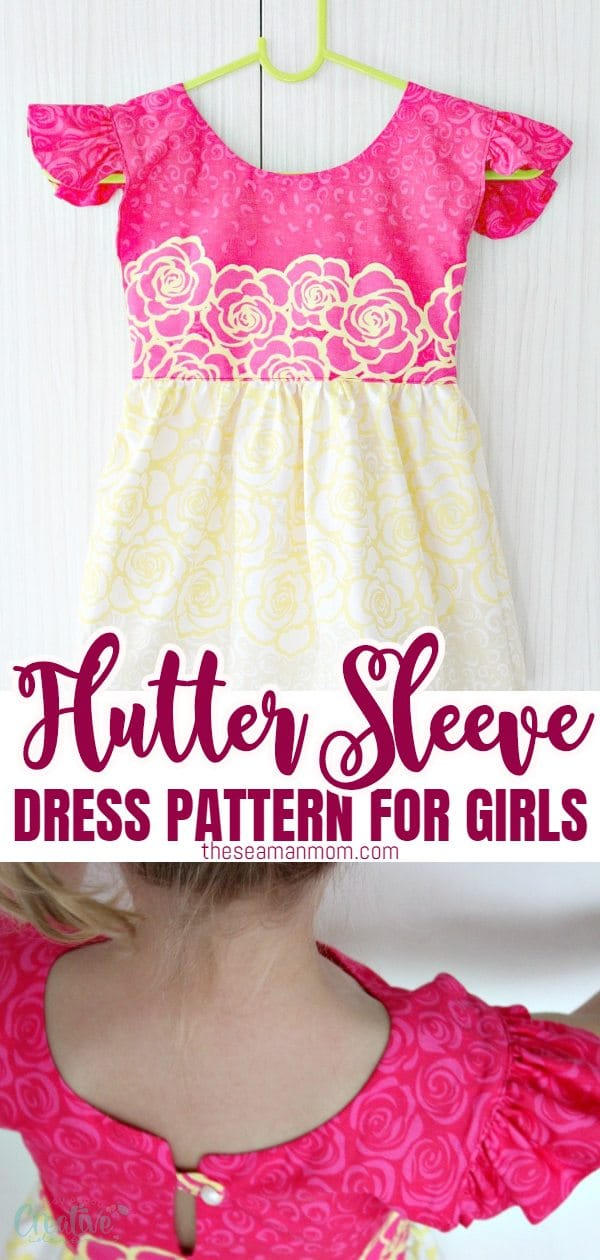 Love sewing for little girls? Learn how to sew an adorable, sweet dress for a little girl using this easy to follow, step by step flutter sleeve dress pattern.   via @petroneagu
