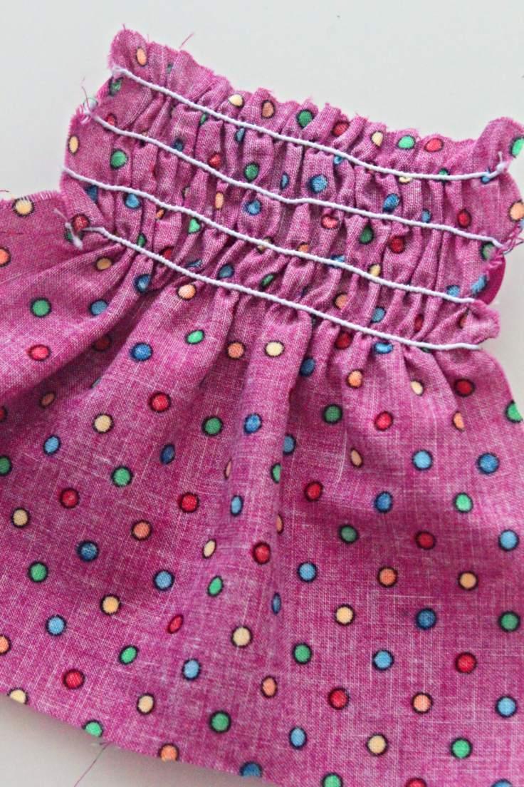 Shirred fabric