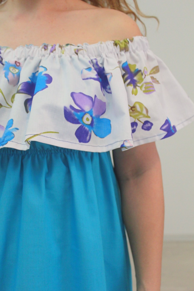 Sweet summer dress pattern